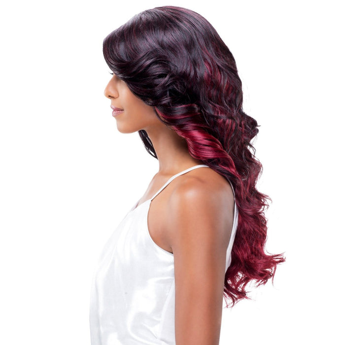 BUTTERFLY | Vivica A. Fox Synthetic Deep Swiss Lace Front Wig - Hair to Beauty | Color Shown: TGM9BR