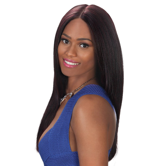 BYD-FP LACE H JADA | Zury Sis Synthetic Lace Front Wig - Hair to Beauty | Color Shown: 99J