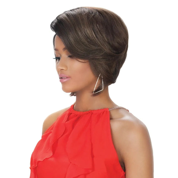 BYD-H LUCY | Zury Sis Synthetic Wig - Hair to Beauty | Color Shown: FS4/30