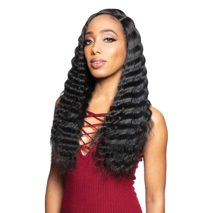 BYD-LACE H CRIMP 22″ | Synthetic Lace Front Wig - Hair to Beauty | Color Shown :