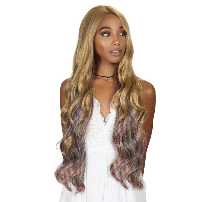 BYD-LACE H HERI | Zury Sis Synthetic Lace Front Wig - Hair to Beauty | Color Shown: OIL BLONDE