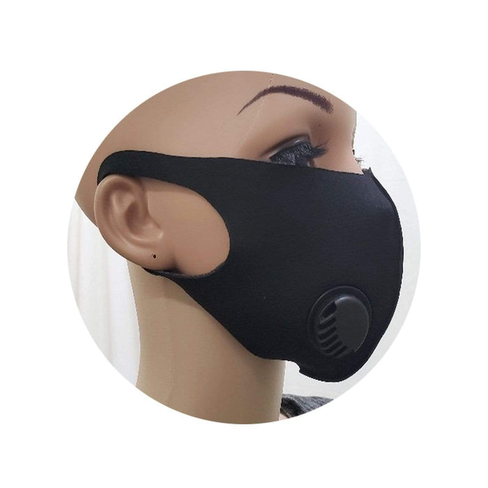 Be U | Color Fashion Mask with Respirator - Buy 1 Get 1 Free.