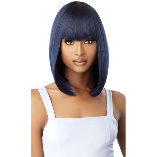 CAIRO | Outre Quick Weave Complete Cap Synthetic Wig - Hair to Beauty | Color Shown : DR Midnight Blue