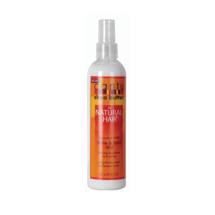 CANTU | NATURAL SHINE & HOLD MIST (8OZ) [COCONUT] - Hair to Beauty