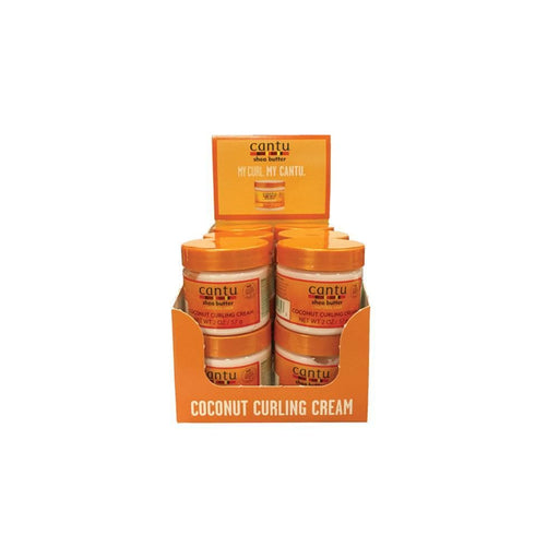 CANTU | NATURAL CURL CREAM (2OZ) [COCONUT] - Hair to Beauty