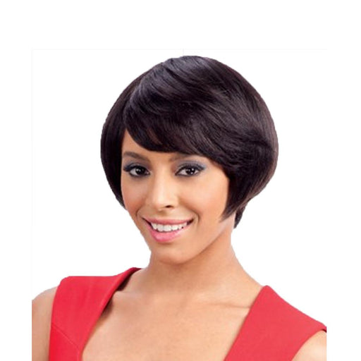 CAPLI | Human Hair Wig - Hair to Beauty | Color Shown: 1B