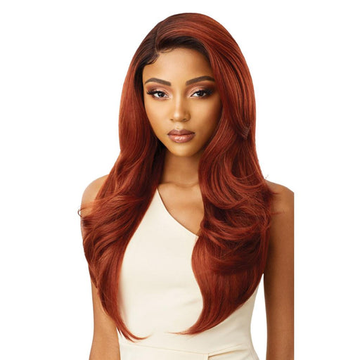 CATALINA | Melted Hairline Lace Front Wig - Hair to Beauty | Color Shown: DR2/CINNAMON SPICE