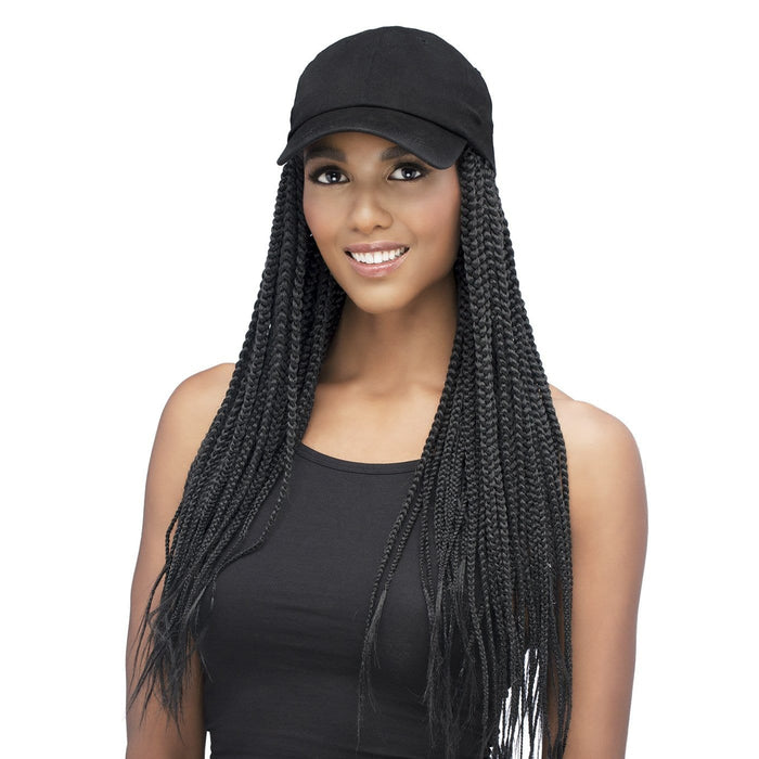CD-BRAY | Synthetic Wig with Black Cap.
