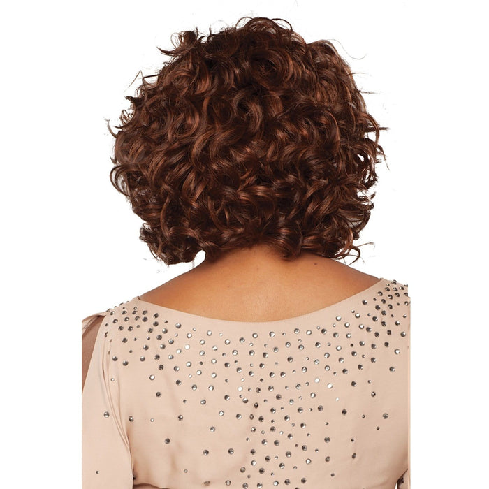 CHANTE | Vivica A. Fox Remi Human Hair Deep Lace Front Wig - Hair to Beauty | Color Shown: P4/30