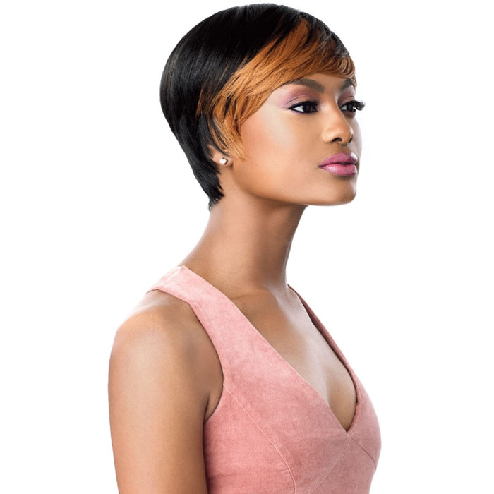 CHASTITY | Outre Wigpop Synthetic Full Cap Wig - Hair to Beauty | Color Shown : HS1B/2730