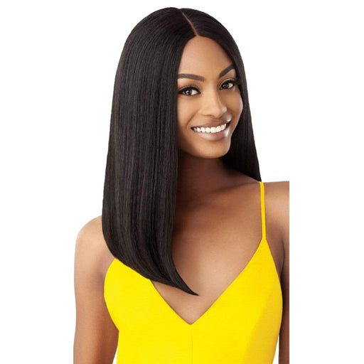 CHERYL | Outre The Daily Synthetic Lace Part Wig - Hair to Beauty | Color Shown: 1B