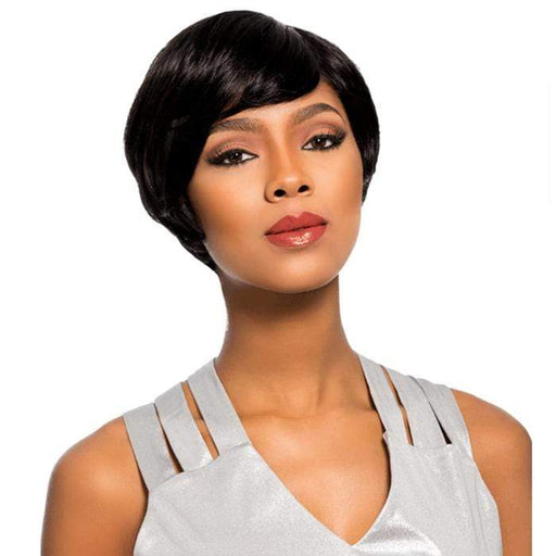 CHLOE | Sensationnel Empire Celebrity Series Human Hair Wig - Hair to Beauty | Color Shown:
