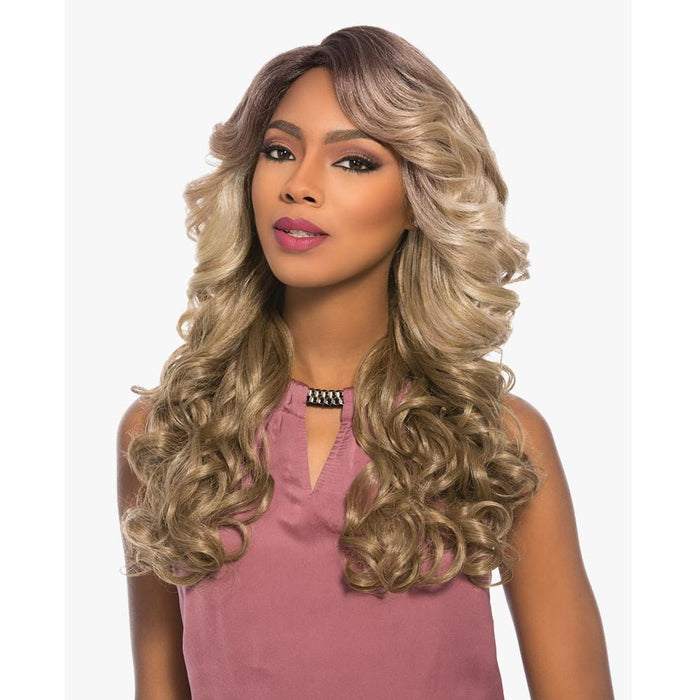 CIARA | Empress Synthetic Lace Part Wig - Hair to Beauty | Color Shown: TP4/10/16