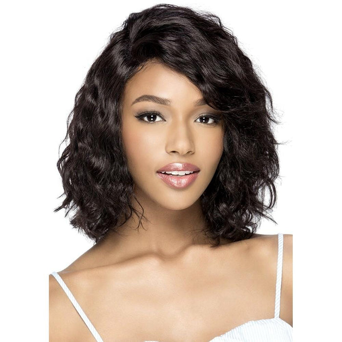 CILEE | Vivica A. Fox Brazilian Remi Jumbo 6X4 Swiss Lace Front Wig - Hair to Beauty | Color Shown: NATURAL