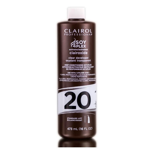 CLAIROL PROFESSIONAL | Soy 4 Plex Clairoxide Clear Developer Vol. 20 - Hair to Beauty