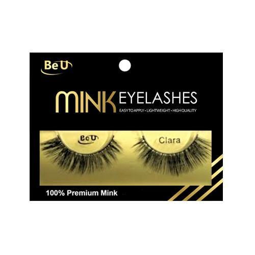BE U | Mink Eyelashes CLARA - Hair to beauty