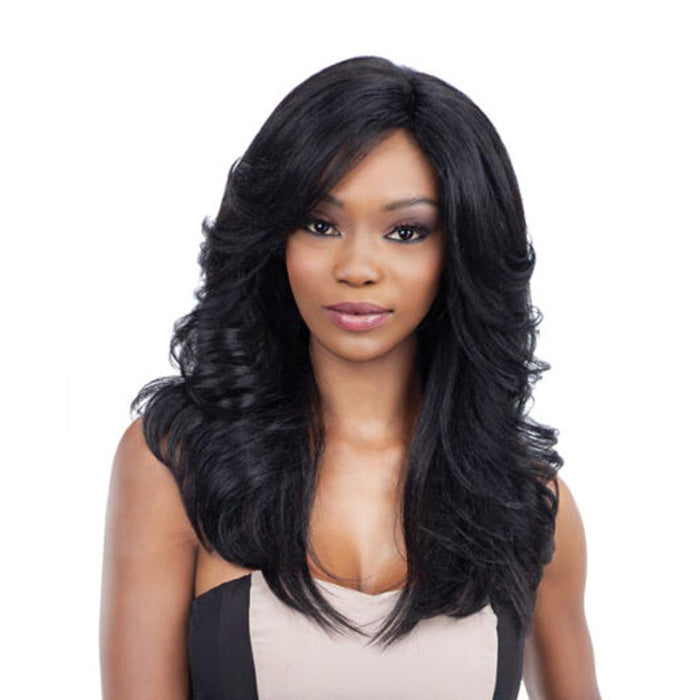 CLARY | Synthetic Invisible Part Wig.