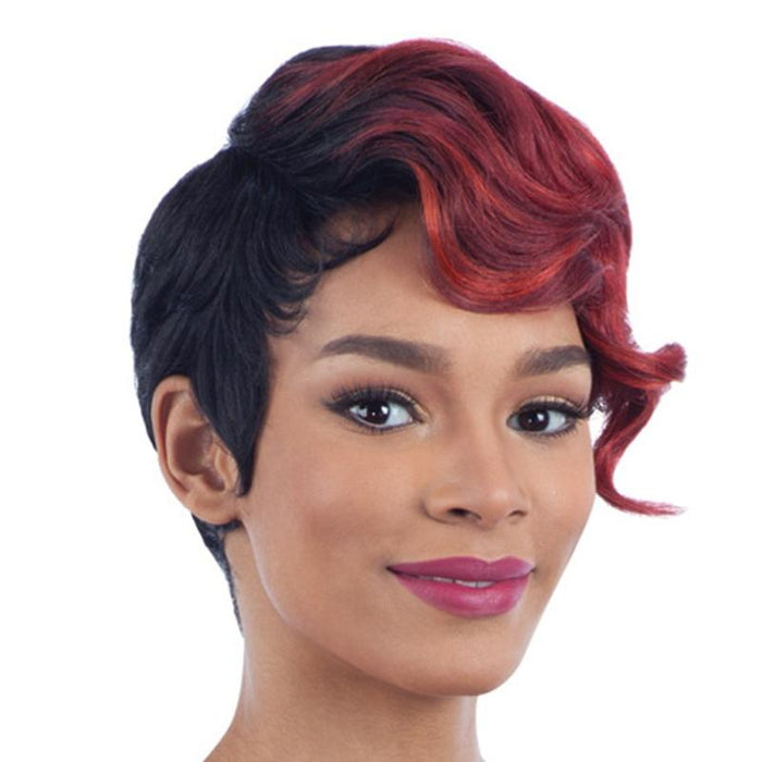 NUMBER 13 | Clean Cap Synthetic Wig - Hair to Beauty | Color Shown: OTSPICY