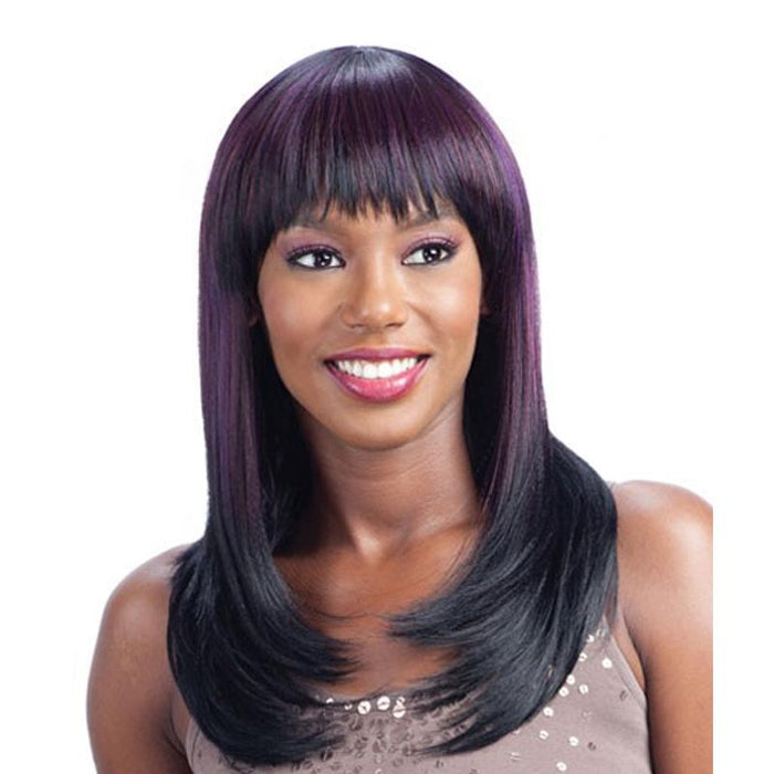 NUMBER 1 | Clean Cap Synthetic Wig - Hair to Beauty | Color Shown:  OS99JPU