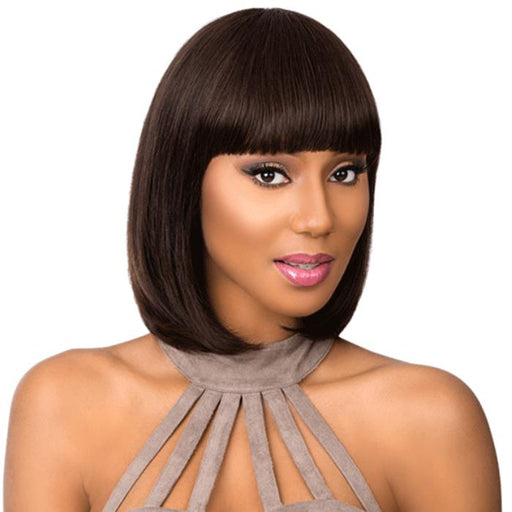 CLEO MEDIUM | Sensationnel Empire Celebrity Series Human Hair Wig - Hair to Beauty | Color Shown: