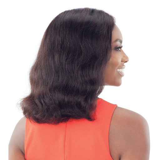 CLEONA | Unprocessed Brazilian Natural Human Hair Lace Front Wig - Hair to Beauty | Color Shown: NATURAL