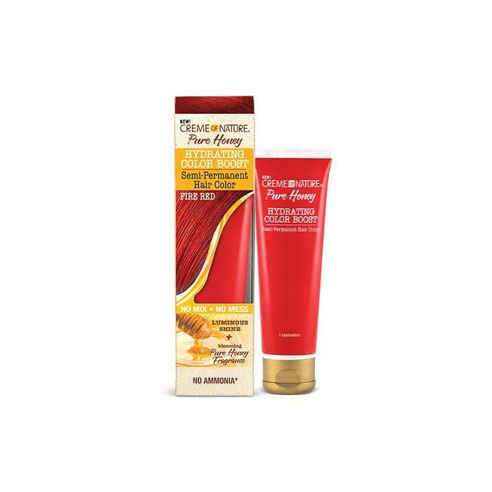 CREME OF NATURE | Pure Honey Hydrating Color Boost Semi-Permanent Hair Color - Hair to Beauty