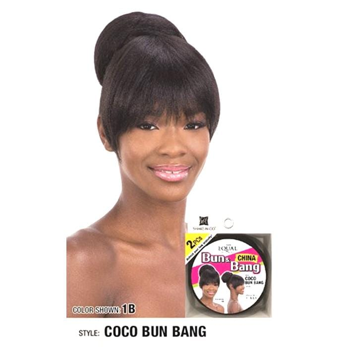 COCO BUN BANG | Synthetic Bun and Bang.