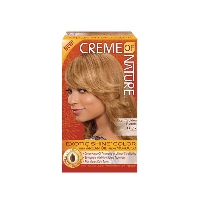 CREME OF NATURE | CLR ARG [#9.23] LIGHT GOLDEN BLONDE - Hair to Beauty
