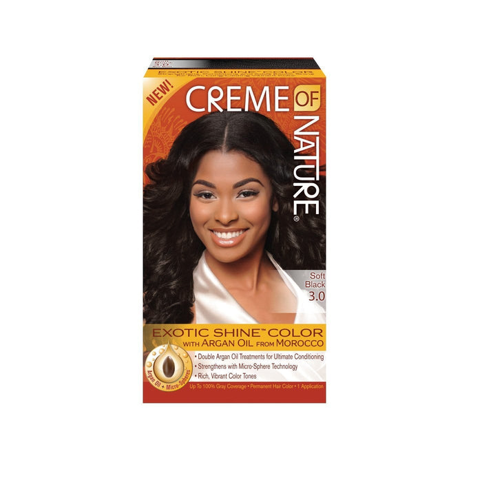 CREME OF NATURE | CLR ARG [#3.0] SOFT BLACK - Hair to Beauty