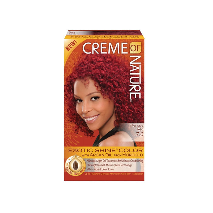 CREME OF NATURE | CLR ARG [#7.6] INTENSIVE RED - Hair to Beauty