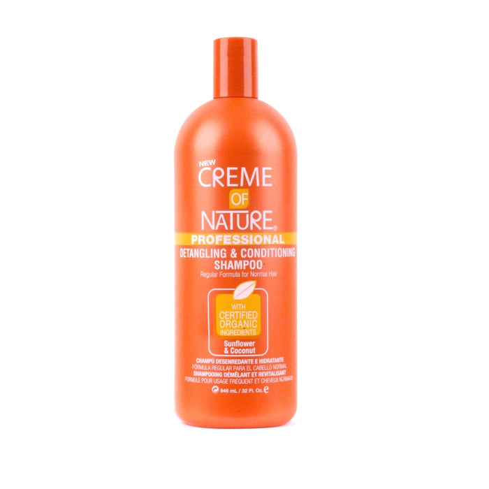 CREME OF NATURE | SUNFLOWER & COCONUT SHAMPOO (32OZ) [DETANGLING] - Hair to Beauty
