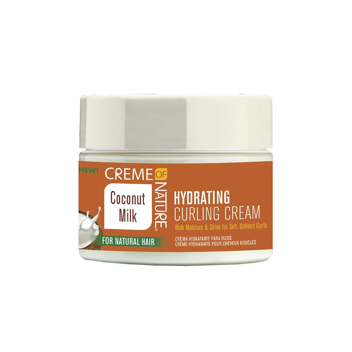 CREME OF NATURE | COCONUT MILK CURLING CREAM (11.5OZ) [HYDRATING] - Hair to Beauty