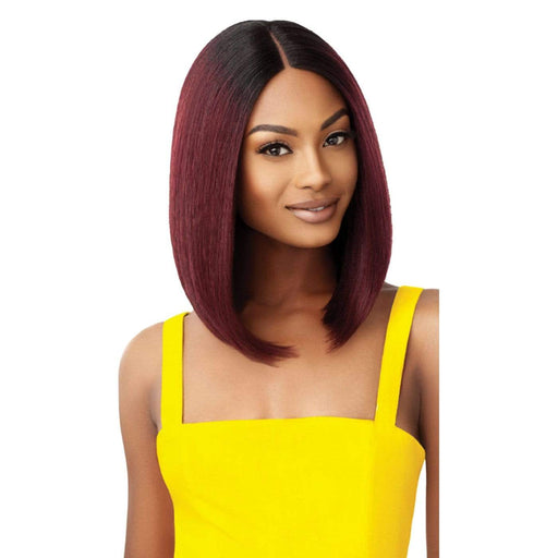CORETTA | Outre The Daily Synthetic Lace Part Wig - Hair to  Beauty | Color Shown: DR BURGUNDY
