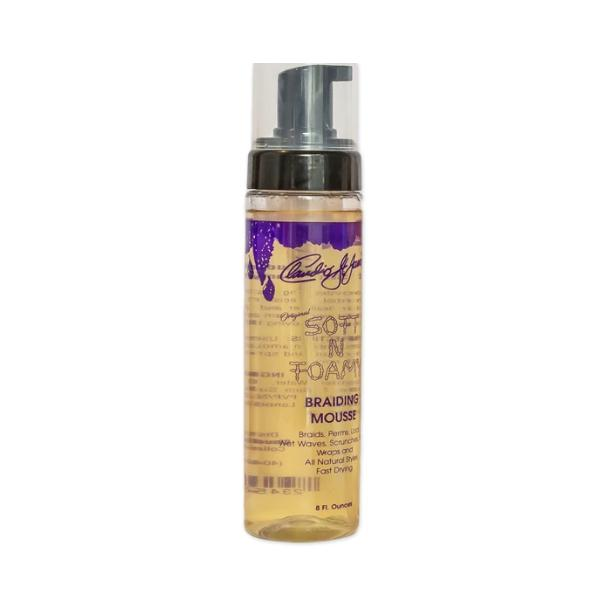 CLAUDIO ST. JAMES | Original Soft N Foamy Braiding Mousse 8oz - Hair to Beauty