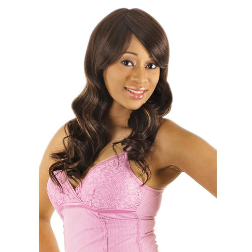 CT11 | Chade New Born Free Cutie Collection Synthetic Wig - Hair to Beauty | Color Shown: FS1B/30