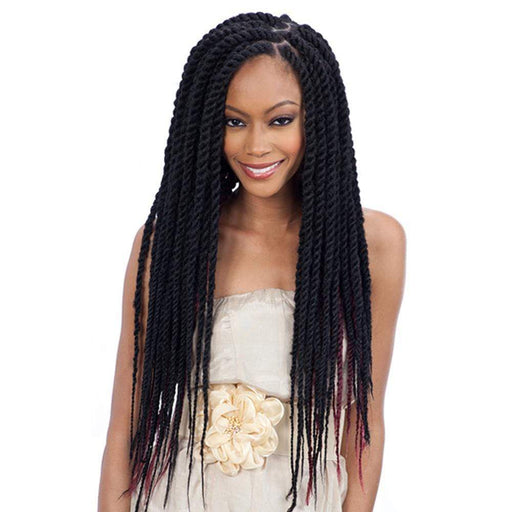 CUBAN TWIST BRAID 16 | Synthetic Braid | Color Shown: 1B - Hair to Beauty