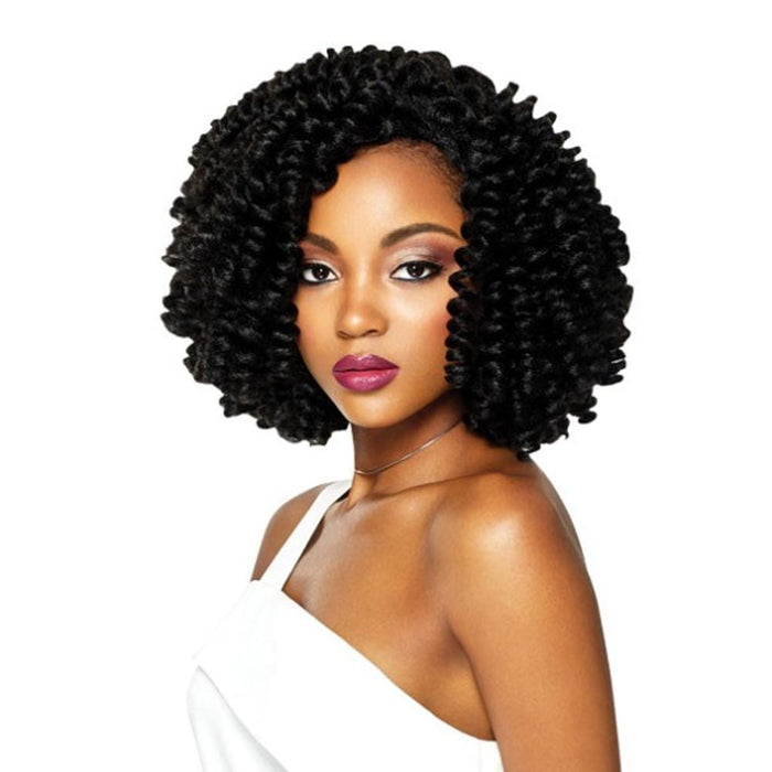 CURLETTE LARGE | Quick Weave Complete Cap Synthetic Wig - Hair to Beauty | Color Shown: 1B