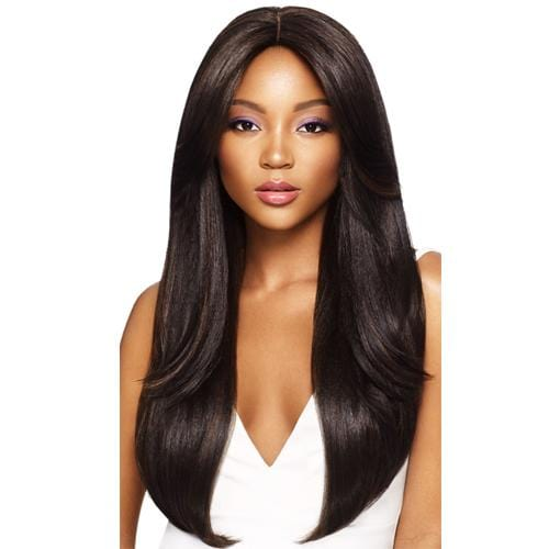 DAPHNE | Outre &Play Human Hair Optimix 13x4 Lace Frontal Wig - Hair to Beauty | Color Shown: S4/30