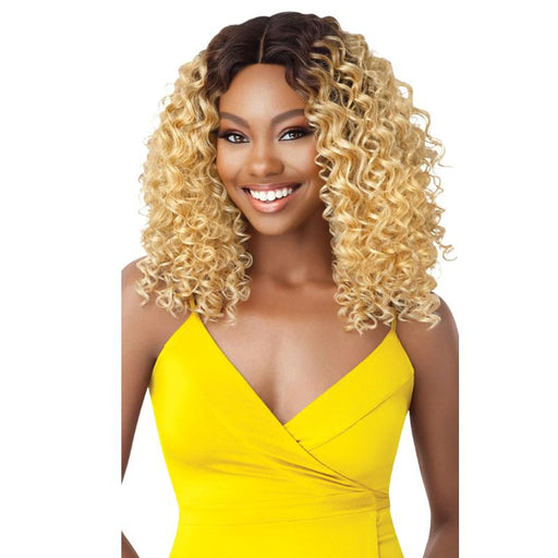 DEANDRA | Outre The Daily Synthetic Lace Part Wig - Hair to Beauty | Color Shown :  DR2/27613