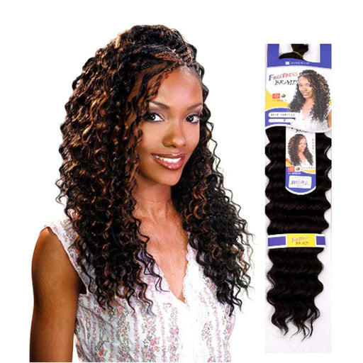 DEEP TWIST | Synthetic Braid | Color Shown: TP1B/30 - Hair to Beauty