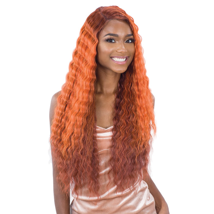 DEEP WAVER 002 | Synthetic Lace Front Wig.