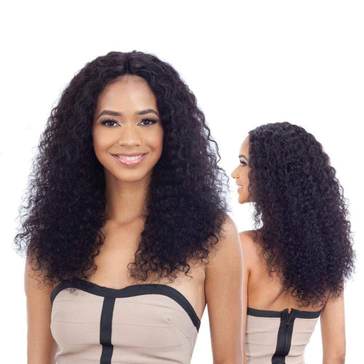 DEEP WAVE | Human Hair Lace Part Wig - Hair to Beauty | Color Shown : NATURAL