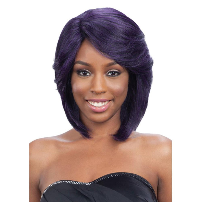DENVER | Synthtetic Lace Front Wig - Hair to Beauty | Color Shown: DKPU