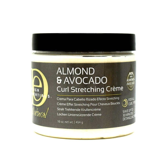 DESIGN ESSENTIALS | Almond & Avocado Curl Stretching Cream 16oz.