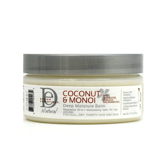 DESIGN ESSENTIALS | COCO MONOI DEEP MOISTURE BALM (7.5OZ) - Hair to Beauty