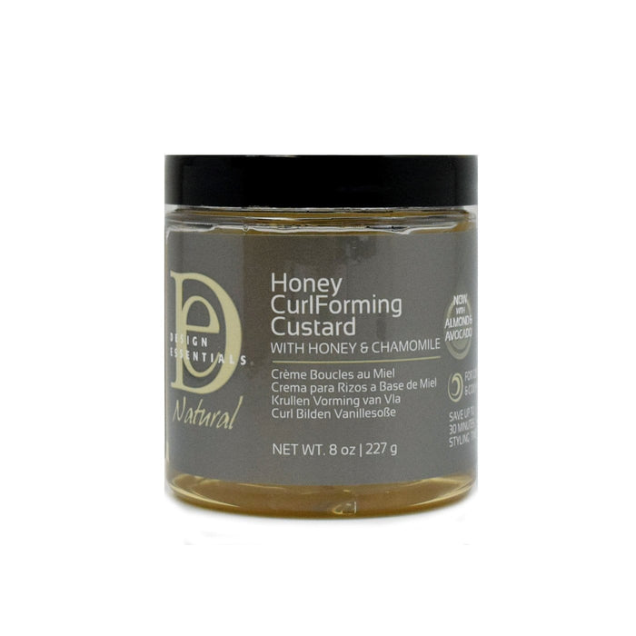 DESIGN ESSENTIALS | NATURAL HONEY CURL FORMING CUSTARD (8OZ) - Hair to Beauty