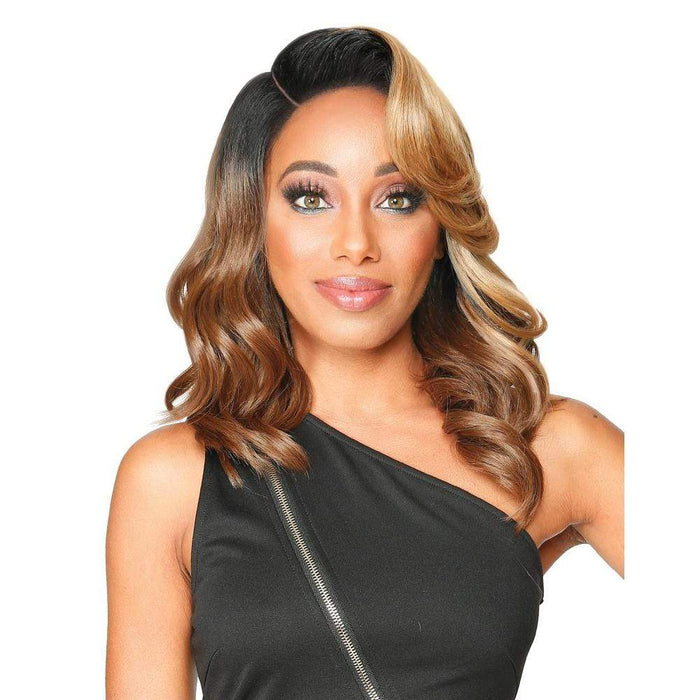 DIVA LACE H EARTHY | Synthetic HD Lace Front Wig.