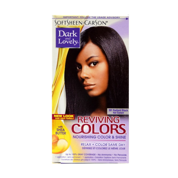 DARK AND LOVELY | Colors Reviving #391 Radiant Black - Hair to Beauty