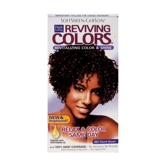 DARK AND LOVELY | Colors Reviving #392 Ebone Brown - Hair to Beauty