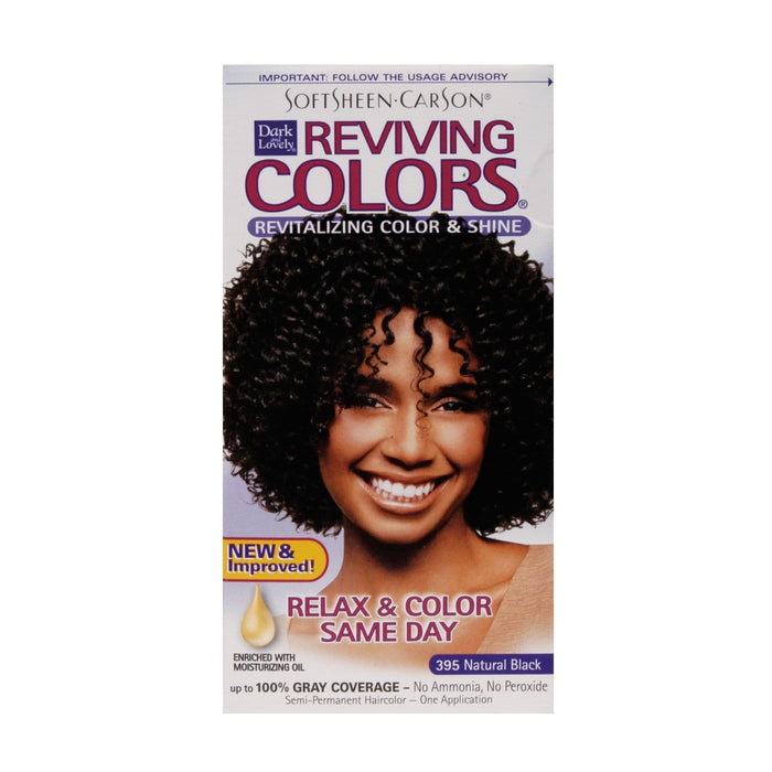 DARK AND LOVELY | Colors Reviving #395 Natural Black - Hair to Beauty
